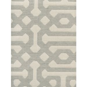 306401F WISCASSET Gray Ivory Quadrille Fabric