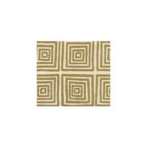 6170-23 ZIGGURAT Gold Metallic on Tint Custom Only Quadrille Fabric