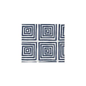 6170-24SUN ZIGGURAT Navy Custom Only Quadrille Fabric