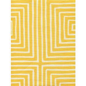 8055-03 ZIGGURAT REVERSE LARGE SCALE Taxibab on Tint Quadrille Fabric