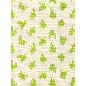 7340-05T ZIZI SPOT Chartreuse on Tint Quadrille Fabric