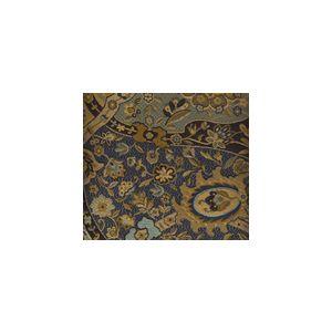 009681T ZODIAC Multi Blue Gold Black Quadrille Fabric