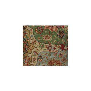 009683T ZODIAC Multi Greens Quadrille Fabric