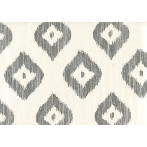 9040-05WP BALI DIAMOND Greys On Almost White Quadrille Wallpaper