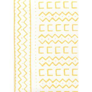 AP980-04 BEAU RIVAGE Yellow On White Quadrille Wallpaper