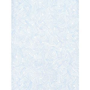 AP404-01 INTERWEAVE Light Blue On Almost White Quadrille Wallpaper