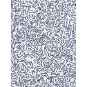 AP404-10 INTERWEAVE Navy On Almost White Quadrille Wallpaper