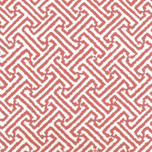 6890WP-14 JAVA JAVA New Shrimp On Almost White Quadrille Wallpaper