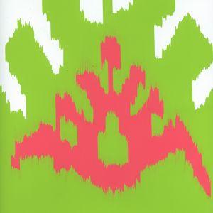 302830W-01AWP KAZAK Magenta Lime Quadrille Wallpaper