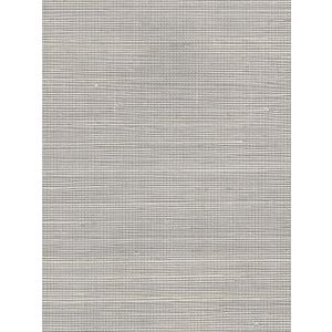 7020-06GC PACIFIC SISAL Silver Quadrille Wallpaper