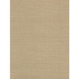 7020-02GC PACIFIC SISAL Straw Quadrille Wallpaper