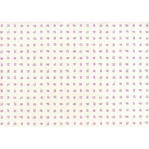 AP880-02AWP TATE Lavender On Almost White Quadrille Wallpaper