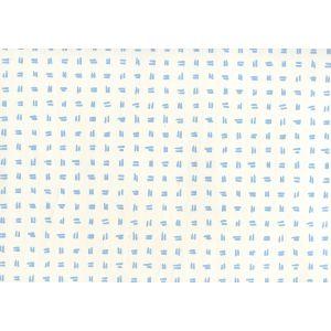 AP880-01AWP TATE Sky Blue On Almost White Quadrille Wallpaper