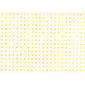 AP880-04AWP TATE Yellow On Almost White Quadrille Wallpaper