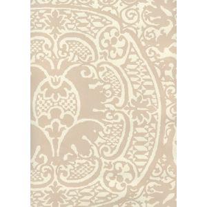 352000W-06OWP VENETO Pumice On Off White Quadrille Wallpaper