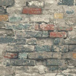 RMK11080WP Brick Alley Wall Appliques York Wallpaper