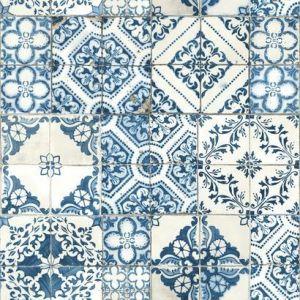 RMK11083WP Mediterranean Tile Wall Appliques York Wallpaper