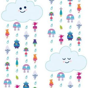 RMK11188RL Trolls Cloud Wall Appliques York Wallpaper