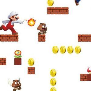 RMK11189RL Mario Wallpaper Wall Appliques York Wallpaper