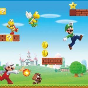 RMK11193BD Mario Border Wall Appliques York Wallpaper