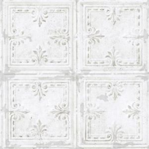 RMK11209WP Tin Tile Wall Appliques York Wallpaper
