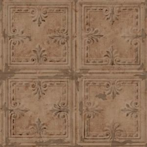 RMK11231WP Tin Tile Wall Appliques York Wallpaper
