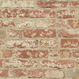 RMK9035WP Stuccoed Brick Wall Appliques York Wallpaper
