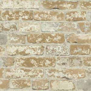 RMK9037WP Stuccoed Brick Wall Appliques York Wallpaper