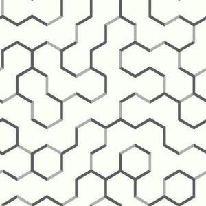 RMK9091WP Open Geometric Wall Appliques York Wallpaper