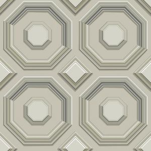 DI4743 Coffered Octagon York Wallpaper
