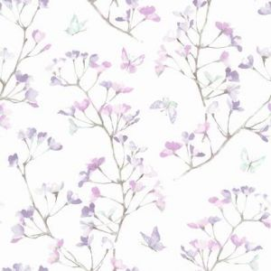 KI0515 Watercolor Branch York Wallpaper