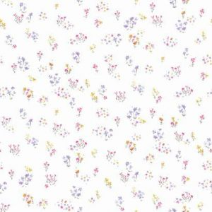 KI0521 Watercolor Floral Bouquet York Wallpaper