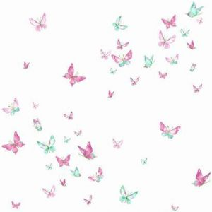 KI0523 Watercolor Butterflies York Wallpaper