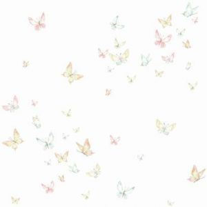 KI0524 Watercolor Butterflies York Wallpaper
