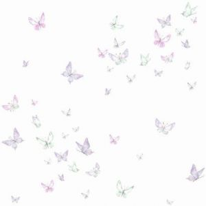 KI0525 Watercolor Butterflies York Wallpaper