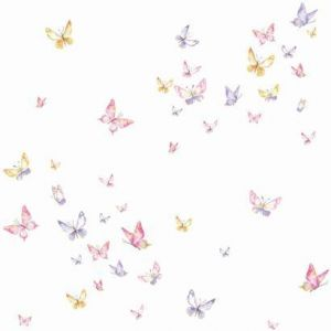 KI0526 Watercolor Butterflies York Wallpaper