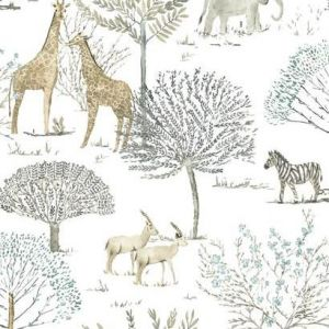 KI0541 On The Savanna York Wallpaper