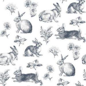 KI0581 Bunny Toile York Wallpaper