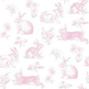 KI0582 Bunny Toile York Wallpaper