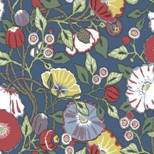 CY1515 Vincent Poppies York Wallpaper