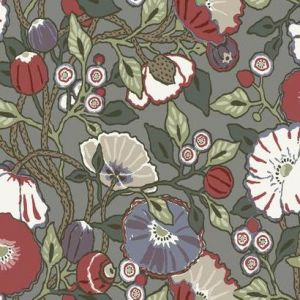 CY1518 Vincent Poppies York Wallpaper