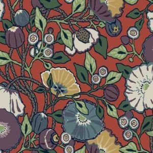 CY1520 Vincent Poppies York Wallpaper