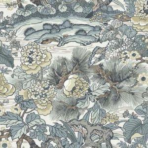 CY1543 Dynasty Floral Branch York Wallpaper