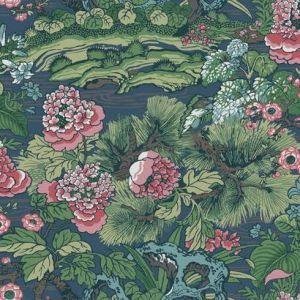 CY1544 Dynasty Floral Branch York Wallpaper