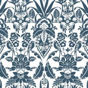 CY1580 Botanical Damask York Wallpaper