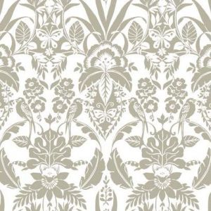 CY1583 Botanical Damask York Wallpaper