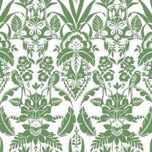 CY1584 Botanical Damask York Wallpaper