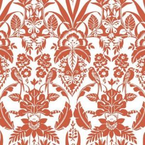 CY1586 Botanical Damask York Wallpaper