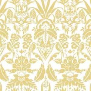 CY1587 Botanical Damask York Wallpaper
