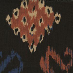 6230-02 IKAT II Sienna Negre Tint Quadrille Fabric